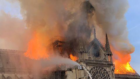 Rappels sur l'incendie de Notre-Dame : intervention de ProjetKO au Forum de l'Europe