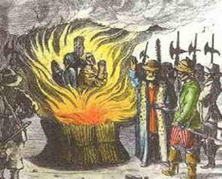 Sainte Inquisition : rareté des exécutions des peines capitales
