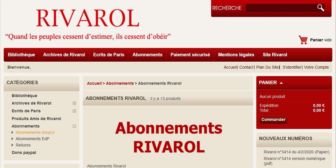 « Macron, Coronavirus, Mila, Fillon, Rassemblement National, Roger Holeindre, crise de la presse » (avec Jérôme Bourbon)
