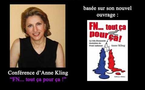 Le Rassemblement national, « Tout ça pour ça » d'Anne Kling