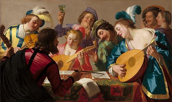 Les compositeurs européens du 16ème siècle