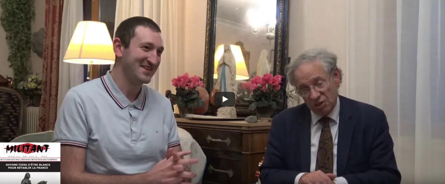 « Actualité & déchéance de la 5ème République » avec André Gandillon