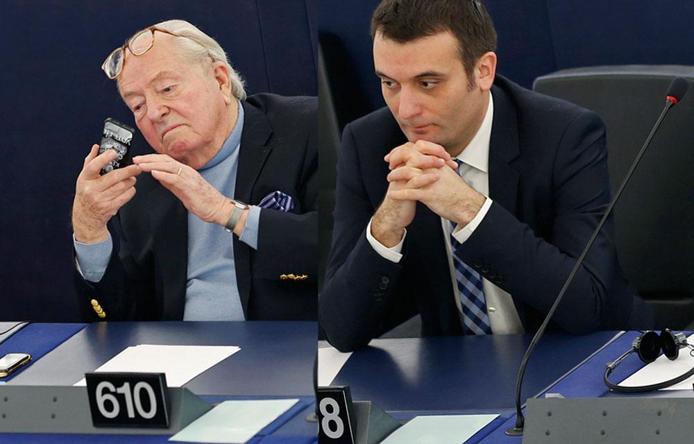 Parlement Européen - Deux discours populistes qui ont mis à mal les laquais des globocrates