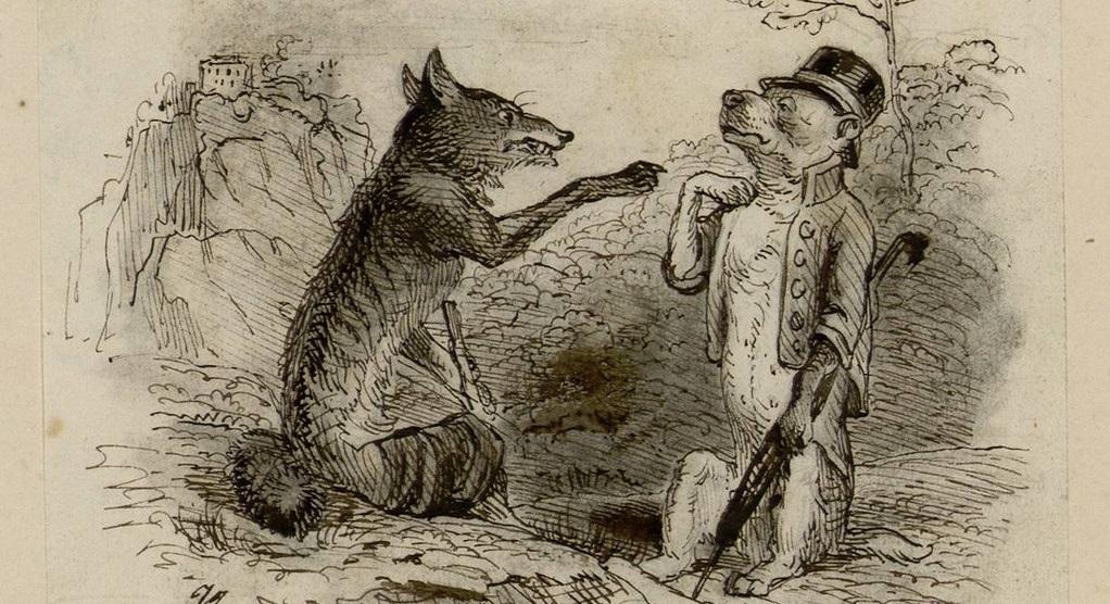Le loup et le chien de La Fontaine, et le parallèle avec la tyrannie dite sanitaire