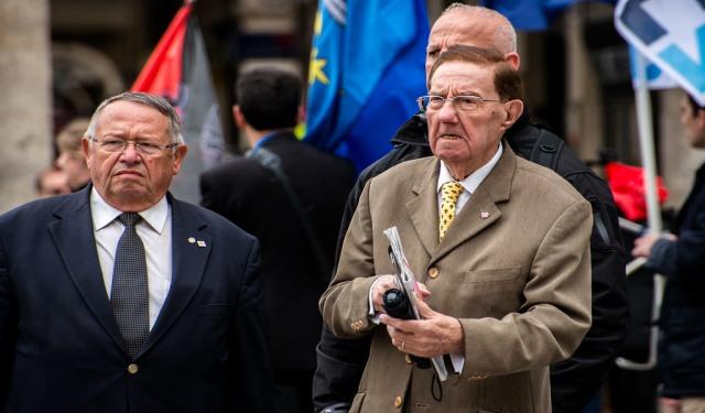 Hommage des nationalistes à Pierre Sidos, samedi 4 septembre 2021
