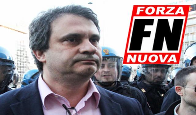 Contre les persécutions en Italie de Forza Nuova et de son président Roberto Fiore qui s'opposent au « passe sanitaire » - Jeune nation